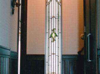 兵庫県尼崎市 玄関ホールはめ殺し窓 施工前後比較写真