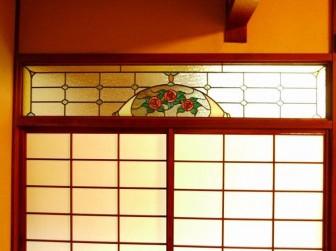 大阪府豊中市 T様邸 和室欄間 バラ 施工前後比較写真