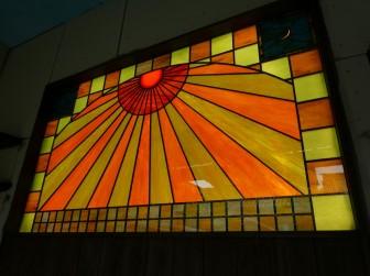 京都府京都市 尊陽院様 LED内蔵ステンドグラス