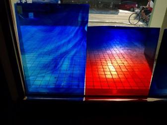 フリモント社(右)&ハートレイウッド社(左)・ヴィンテージガラス