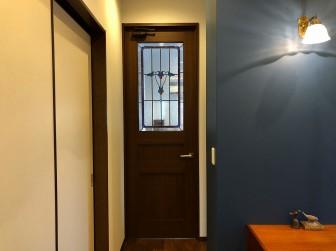 (89)大阪府茨木市M様邸 リビングドア セミオーダーTW-15(アレンジ) 大和ハウス 施工前後比較写真