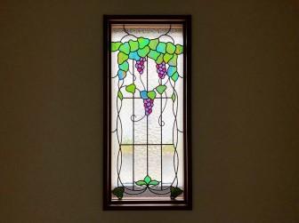 (91)和歌山県有田郡H様邸 はめ殺し窓 玄関&階段室 ヘーベルハウス 施工前後比較写真