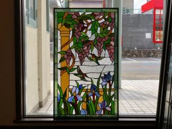(32)ステンドグラスパネル修理 S建設様 兵庫県西宮市