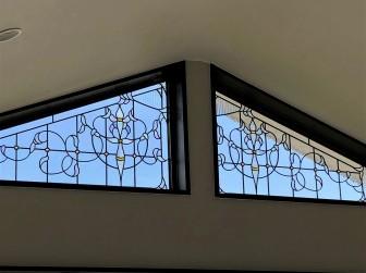 (123)大阪府八尾市O様邸 リビング変形たて滑り出し窓 LOW-Eペアガラス内蔵 施工前後比較写真