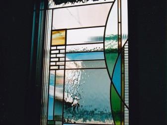 大阪府茨木市 O様邸 玄関ホールはめ殺し窓 施工前後比較写真