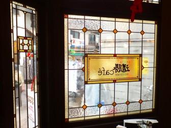 (27)大阪府大阪市中央区 道勝カフェ様 ・窓やドアに多数設置