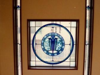 滋賀県草津市 玄関ホール吹き抜け はめ殺し窓 ヘーベルハウス住宅展示場