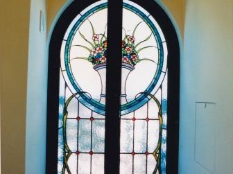 兵庫県芦屋市 廊下 両開きアーチ窓 積水ハウス