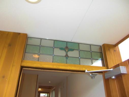 玄関ドア欄間部分 セミオーダーTW-12 ペアガラス内蔵
