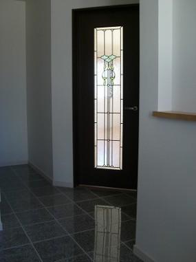 玄関からリビングへのドア   セミオーダー(品番TW-17)