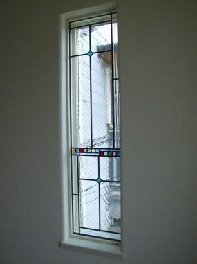 A/住宅(大阪府)(品番TW-09) B/新築 C/階段室・はめ殺し窓
