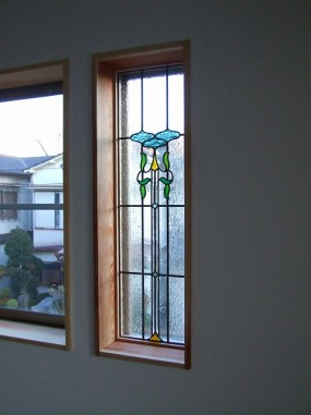A/住宅(大阪府茨木市)(品番TW-17) B/新築 C/リビング・はめ殺し窓