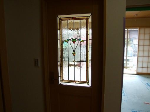 A/住宅(品番TW-15色変更&デザイン追加) B/新築 C/リビング・室内ドア