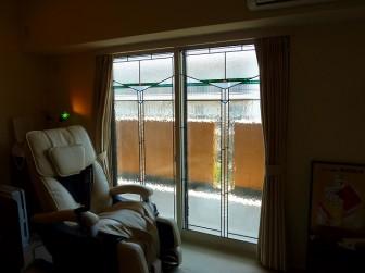 大阪府豊中市 W様邸 マンション掃き出し窓 施工前後比較写真