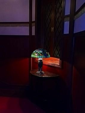 ティファニーレプリカ ステンドグラスランプ
